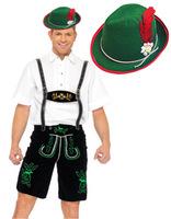 Plus Size MLXLXXL Mens Oktoberfest Salzburg Festival German Beer Costume Britain Worker Costume UK Farmer Uniforms