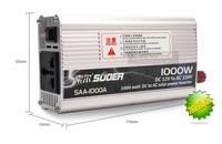 SUOER  1000W  car power inverter  12 V / 24V to 220 V