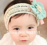 30pcs/lot Fashion cuter baby hair accessories girl headbands hairband boutique  Baby hair band flower headwear th09