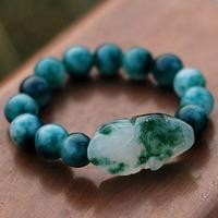 National vintage jewelry trend plaid pavans night market bracelet necklace