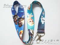 DHL Free Shipping FROZEN  Key  Lanyard Wholesalers mobile phone strap For Kids