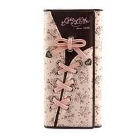 Pardustrade 2014 female wallet fashion bow long women's tri-fold wallet /double -fold purse korea wallet pink wallet