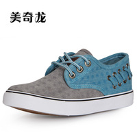 New arrival low canvas shoes female skateboarding shoes kilen color block decoration shoes women's breathable casual shoes