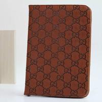 leather case with stand holder ultra thin PU fashion print pattern for iPad mini&mini2 auto wake sleep R3 free shipping