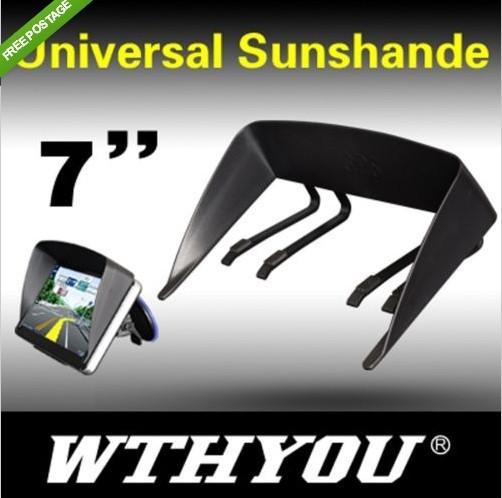 S07 GPS Sun Shade Visor Anti Glare Brand New Sunshade for 7'' GPS(China (Mainland))