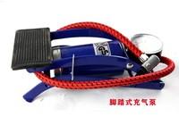 Car car air pump vaporised pump car foot portable cc-102b tire gauge