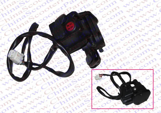 Switch Throttle lever Kit Kazuma Jaguar 500CC ATV handle Bar Switch Assy RH 4WD 2WD(China (Mainland))