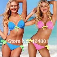 Free shipping new 2014 Vintage Bikini Women Fashion Sexy Swimsuit Ladies' Swimwear Beachwear Leopard Grain swimwear women