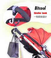 Bitcool baby stroller baby stroller cart rotate hook 2