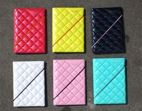 2014 New Arrived 6 Colorful Diamond Passport Card Holder,Pearly-Lustre PVC Fashion Part Free Shipping Wholesale