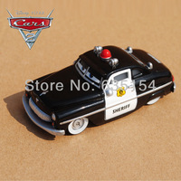 Brand New 100% Original 1/55 Scale Pixar Cars 2 Toys Sheriff Diecast Metal Car Toy For Children Loose In Stock