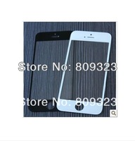 Black white  Front Screen for iPhone 5 5G Outer Glass Lens Cover Replacement  10pcs/1lot free shipping