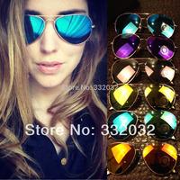Victoria Beckham coating sunglass 2014NEW ken block aviator sun glasses retro sunglasses women/men polarized holbrook glasses