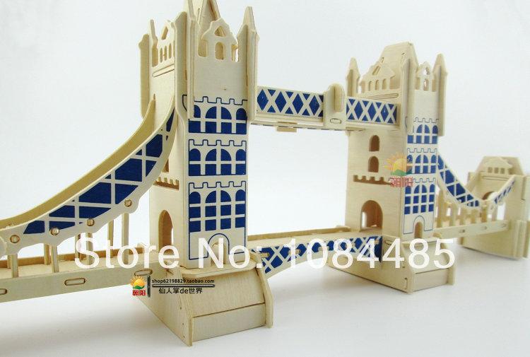 Wood Bridge Building Kits