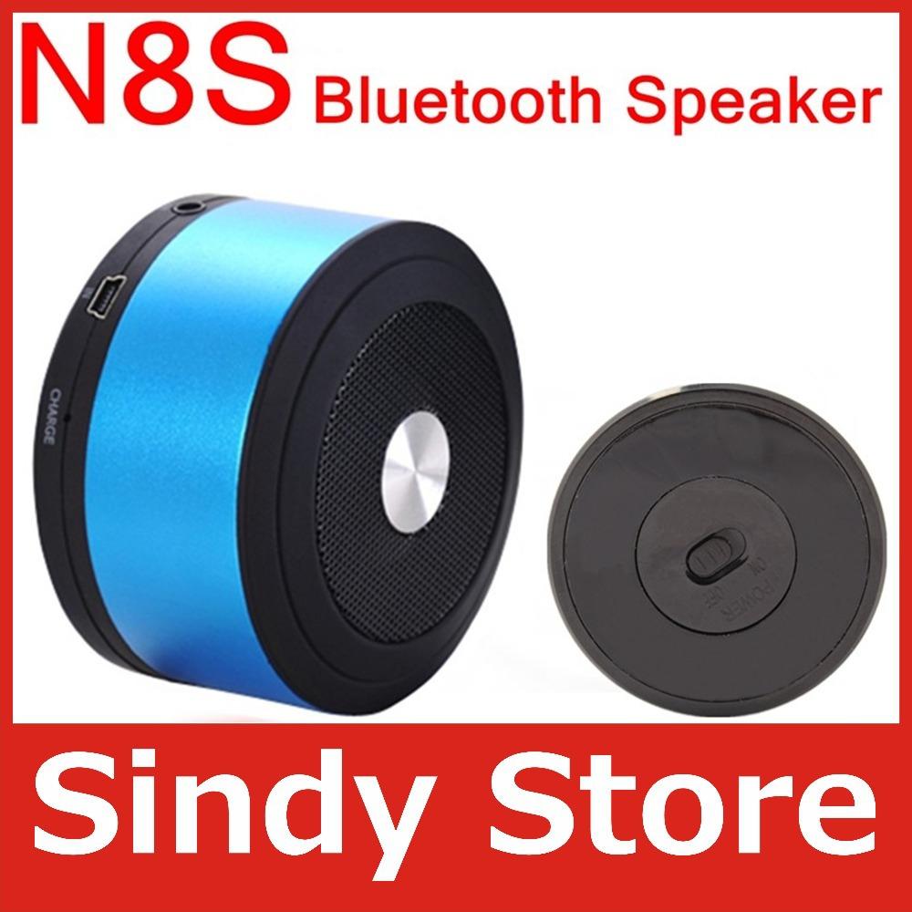 10pcs/lot Mini Wileress Bluetooth Speaker support TF MP3 Music player