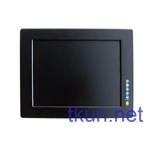 TKUN N150XGA new 15-inch aluminum panels embedded industrial touch screen LED display(China (Mainland))