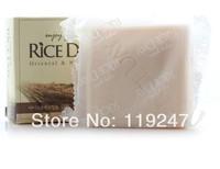 2014 New Hot Moisturizing Whiten Rice Milk Bath Whitening Facial Soap Skin Care 100g