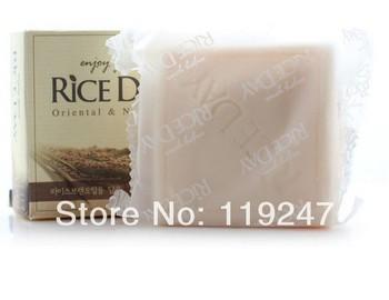 2014 новый горячий увлажняющий отбелить рисовое молоко для лица мыло по уходу за ...