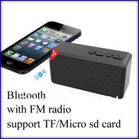 mini portable jambox style X3 bluetooth Speaker build in lithium Battery wireless bluetooth speaker with Mic /fm radio 10pcs