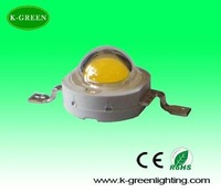 wholesale warm white 1w high power led lamp beads with factory supply  DHL free shipping