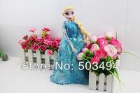 2014 NEW style 12 INCH Popular Movie Frozen dolls plastic girls' gift toys free shipping Elsa doll toys