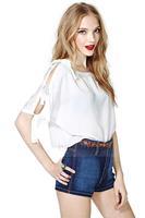 new 2014 women blouses fashion blouse plus size shirt women free shipping HDY-308