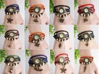 Women Retro Watches Woman Quartz Watch Ladies Bracelet Watches Lady Fashion Watch Clock 3 Colors Korean Style New 2014 30pcs/lot