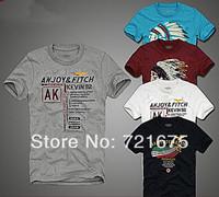 2014 New style t-shirt men 100% cotton men's t shirt short sleeve casual slim fit stylish England