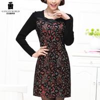 Women's autumn one-piece dress formal  Free shipping