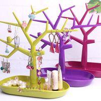 Bird and tree  multifunctional jewelry holder accessories display rack earring rack ring frame bracelet storage