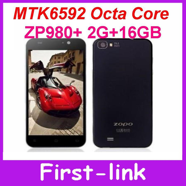 With free gifts ZOPO ZP980+ MTK6592 Octa Core Phone 5 Inch IPS ZOPO C2 Platinum Upgrade ZP980 Plus Smart Mobile Android(China (Mainland))