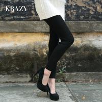 women clothing Krazy autumn and winter thickening wool soft twist dot legging socks 6122