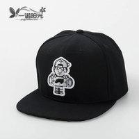 Skateboard c fashion hiphop  flat along the cap baseball cap autumn and winter fashion male women's flat brim cap