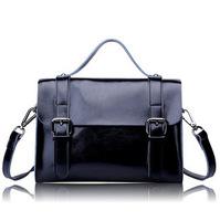 women messenger bags leather handbags 2014 preppy style cowhide vintage bag