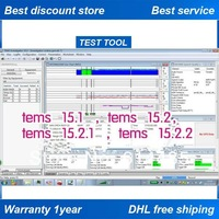 Free shipping DHL /EMS + TEMS 15.2.1 (TI15.2.1) + tems discovery Device 10.0(TDD10.0) software + dongle