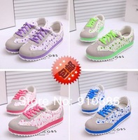 free shipping Single shoes female doll shoes broken beautiful flat platform shoes casual shoes with flat sole