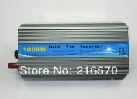 1000W /1KWInverter,18V panel / 36cells,Grid tie inverter,120V or 230VAC output,pure sine wave inverter power,with MPPT function