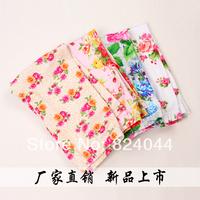 wholesale child summer cotton prints capris 2014 children's legging girls 7 minutes of pants free shipping