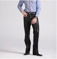 Free shipping !! HOT SELL Men pants men's leather pants Men's trousers, radices sileris, water proof, Fashion slim pants