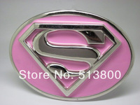 The pike superman 3D Belt Buckle