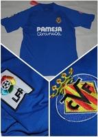 Top Thailand Quality Spain Villarreal Away Ivan Rakitic 25 # Jeremy Perbet 29 Player Version Football Soccer Jerseys Uniform