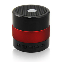 SDY-001 Portable USB Speaker LED Bluetooth Mini Music Player Mp3 FM Red