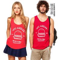 vest couple lover undershirt vest printing shirt 0032206