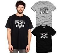 On Sale Lovers Fashion five-pointed star skateboard swag HARAJUKU hiphop Cotton T-shirts Short-sleeve Shirts Drop Shipping tees