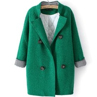Fashion women's 13 autumn and winter wool coat outerwear