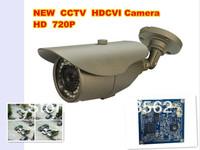 DHL free shipping:NEW HOT CCTV HDCVI Camera 1.3Megapixel 720P Water-proof IR HDCVI Camera 6mm fixed  lens  (4 mm,  8mm optional)