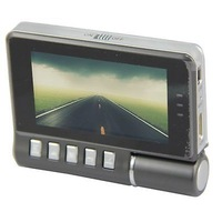 "K2W 2.7"" LCD Car DVR G-Sensor 1080P 180 Degree Rotated Lens Vehicle Video Recorder"