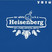 FREE SHIPPING breaking bad heisenberg chemical glassware t shirt for men women T-shirt