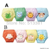 16pcs/lot 4 Layers Waterproof Baby Diapers Baby Boy Shorts Baby Girl Underwear Infant Training Pants Baby Nappies #004