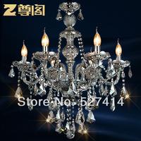 T statue Court luxury crystal lamp ceiling modern minimalist living room European-style chandelier crystal hanging lamps lightin